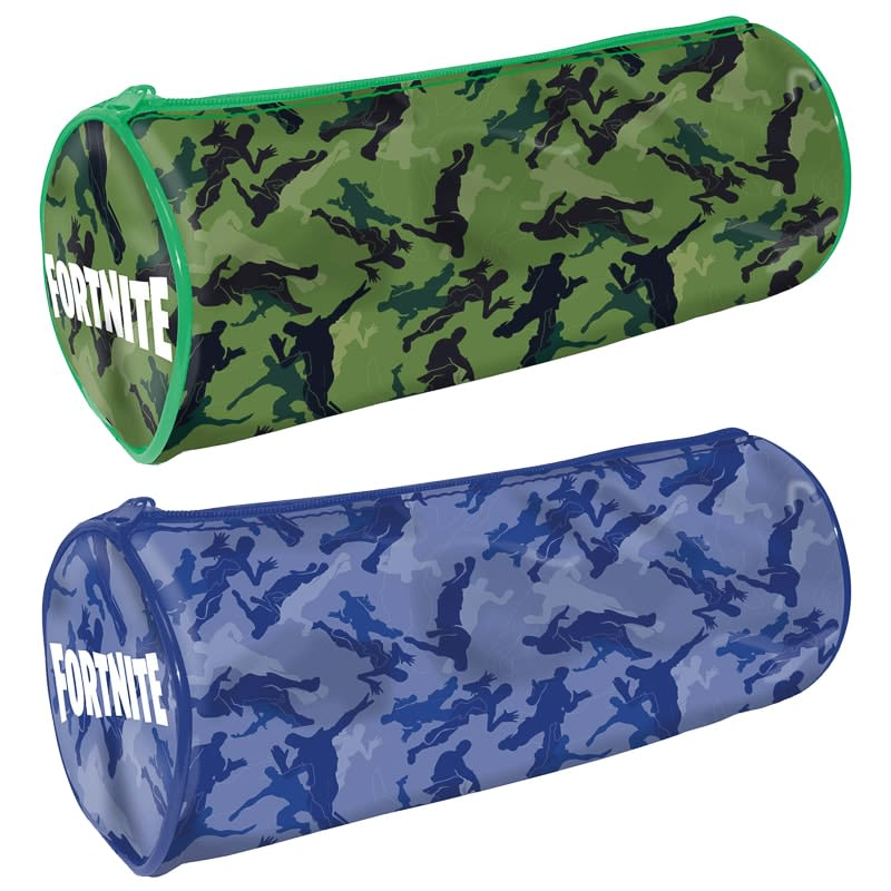 Fortnite Camouflage Pencil Case - Green