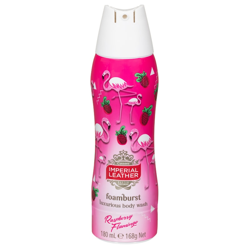 Imperial Leather Foamburst Body Wash 180ml - Flamingo