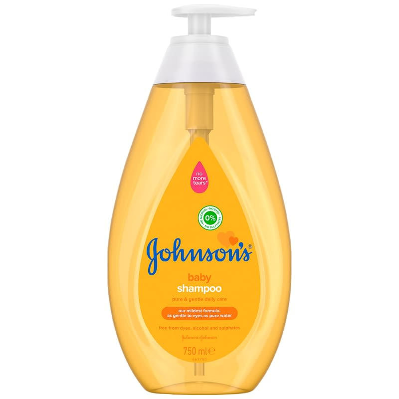 Johnson's 3-in-1 Baby Shampoo 750ml
