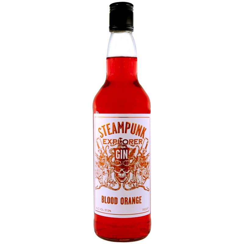 Steampunk Explorer Blood Orange Gin 70cl Spirits Craft