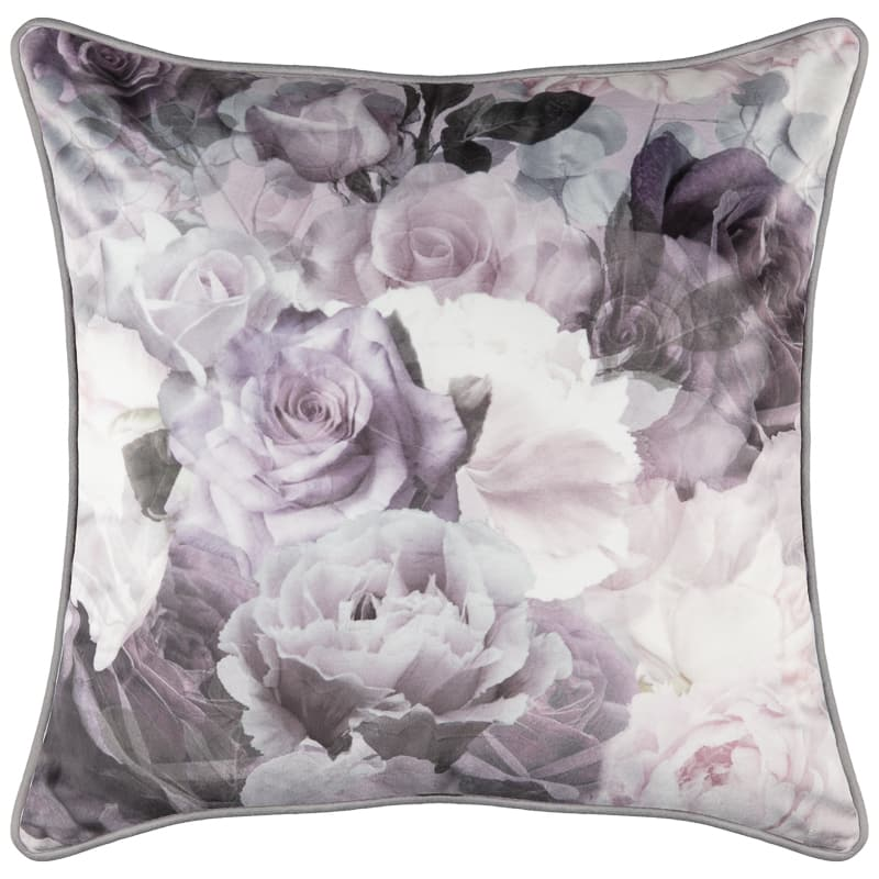 Mia Floral Velvet Cushion