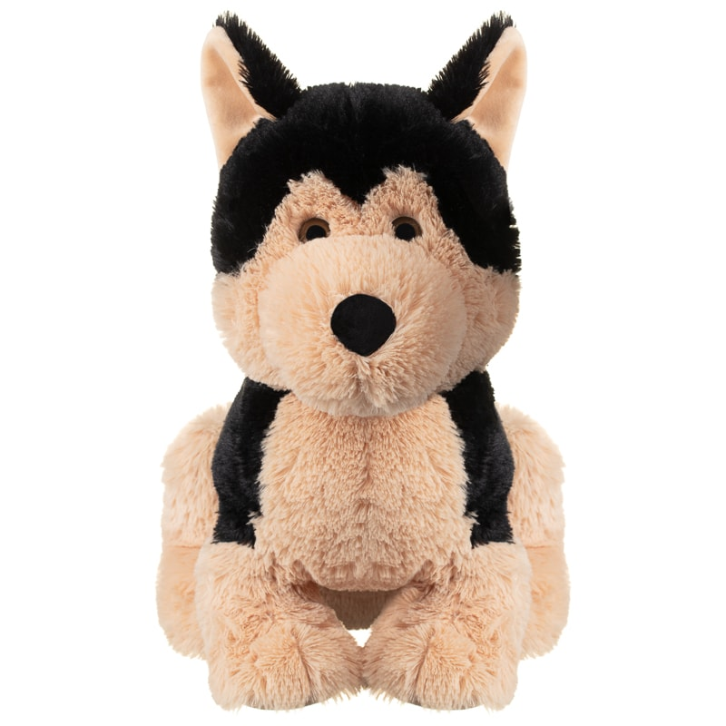 Max the Cuddly Puppy - Light Brown & Black