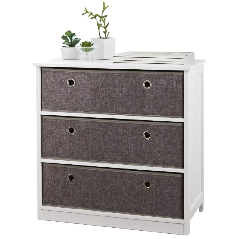 Easy Link Wide 3 Drawer Chest