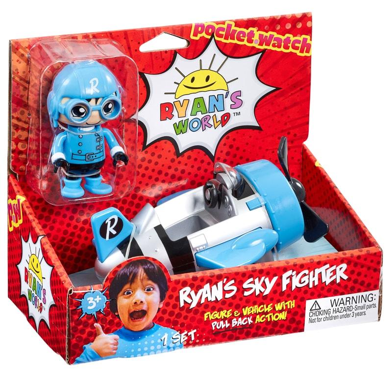 Park Star Ryan /& One Mystery Ryans World Action Figure Set 3