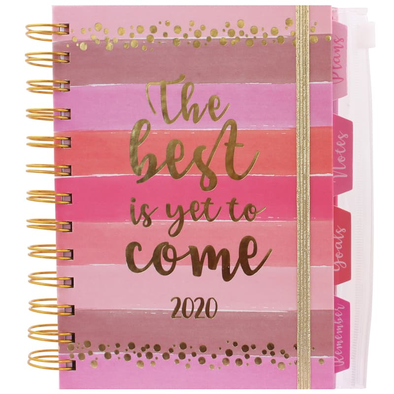 2020 Organiser Diary - Best is Yet to Come