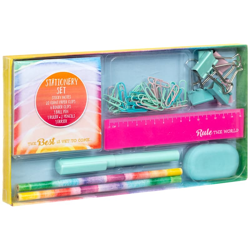Fashion Stationery Set 32pc - Rule the World