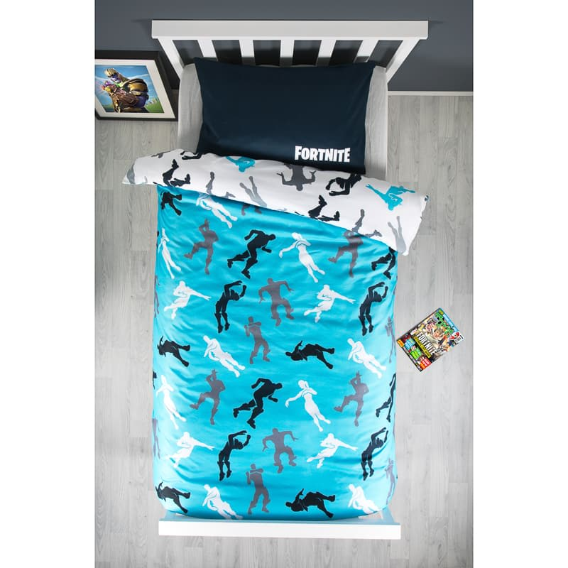 B&M Kids Fortnite Reversible Single Duvet Set