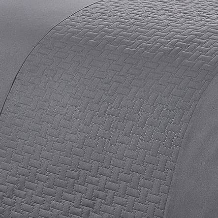 Pinsonic Double Duvet Set - Charcoal