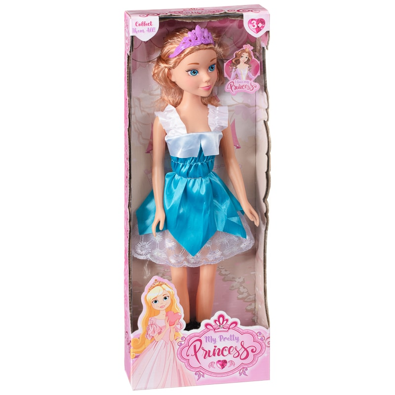 My Pretty Princess Doll - Blue