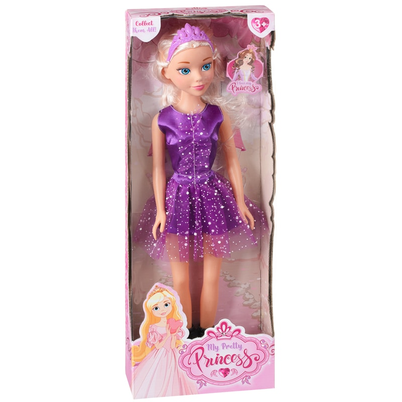 My Pretty Princess Doll - Purple