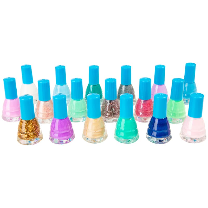 Ice Princess Kids Nail Varnish 18pk