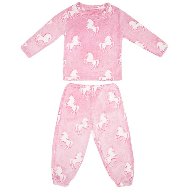 Girls Glow In The Dark Pyjamas Clothing Kids Nightwear