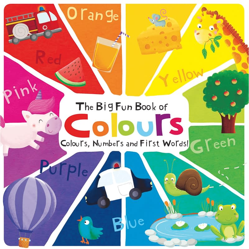 The Big Fun Book of Colours