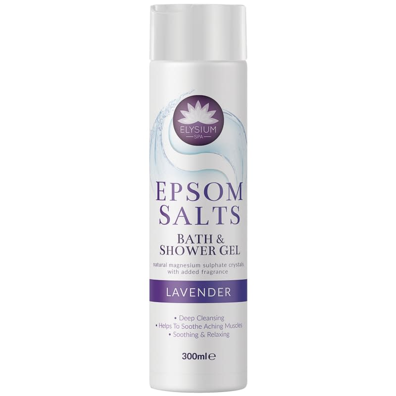 Elysium Epsom Salts Shower Gel 300ml - Lavender
