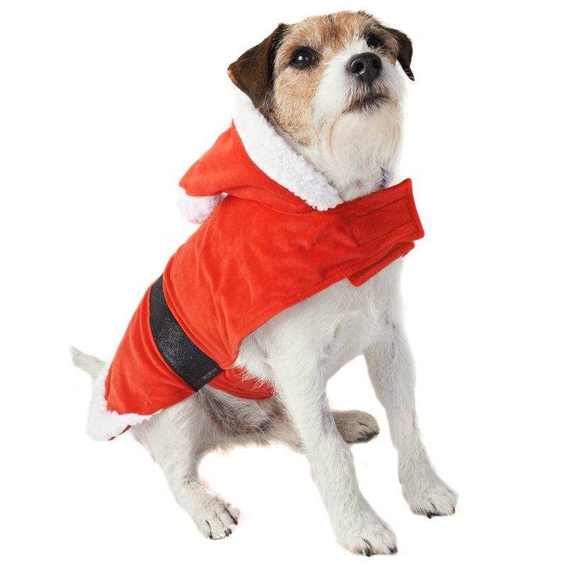 Christmas Dog Costumes.Santa Christmas Dog Costume Xs S