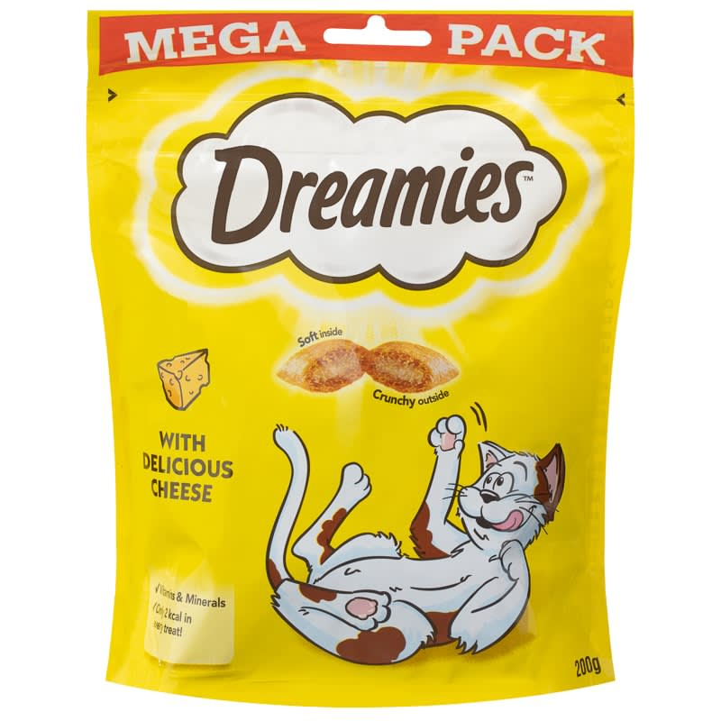 Dreamies Cat Treats 200g - Cheese