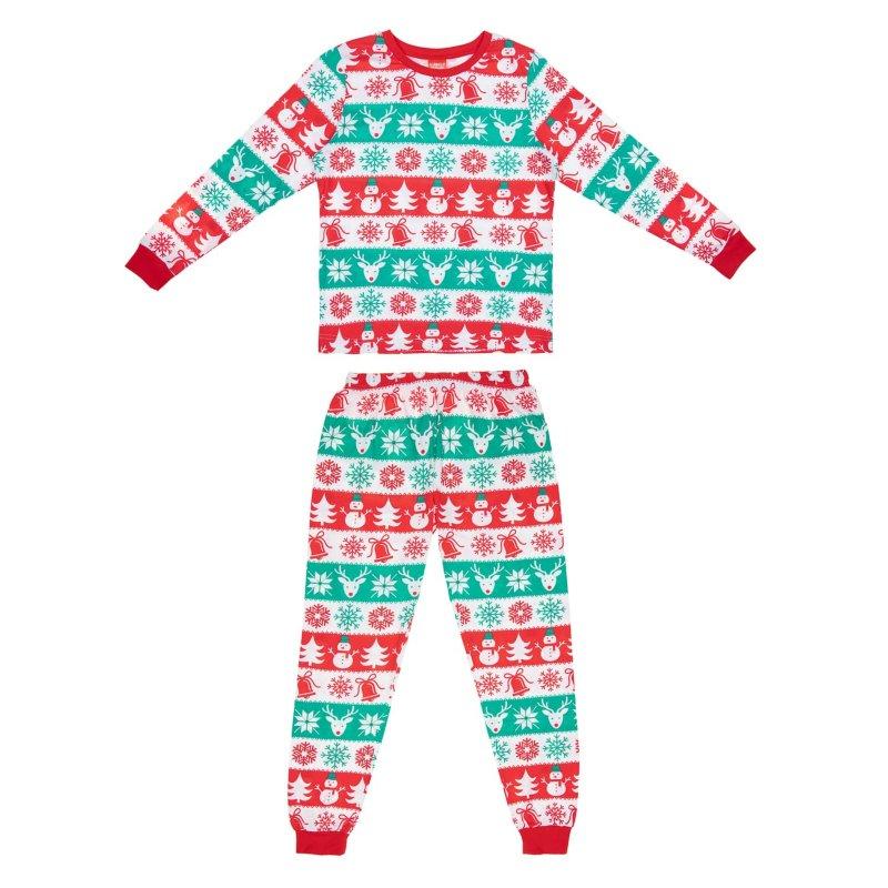 Matching Christmas Pjs.Ladies Fair Isle Christmas Pyjamas