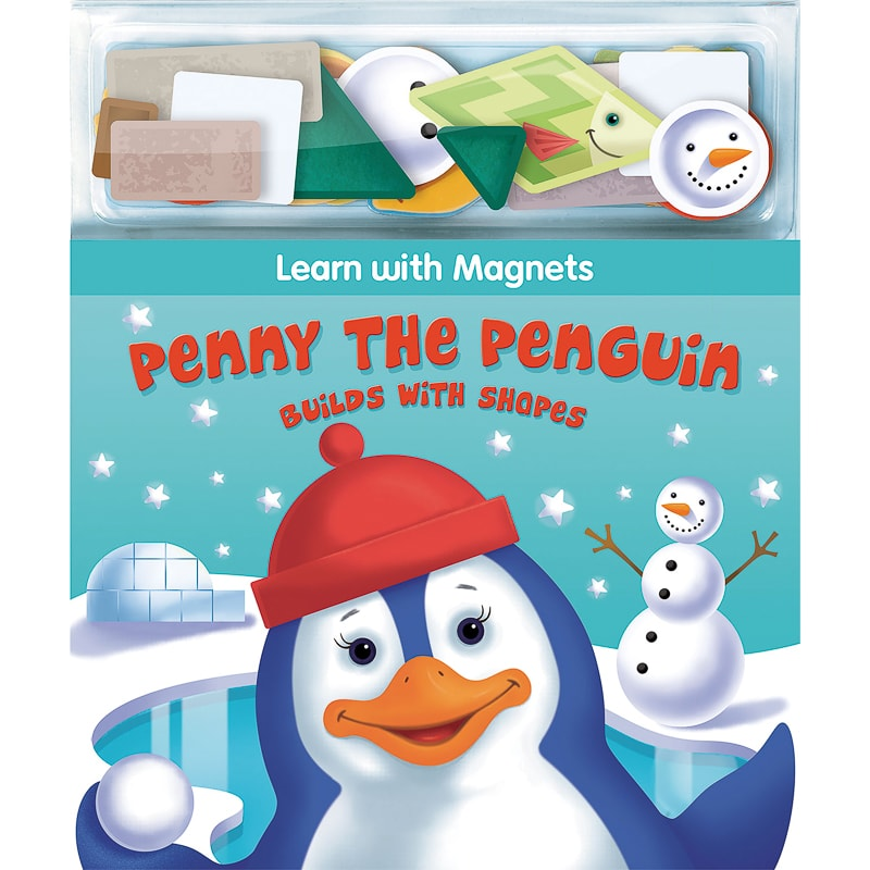 Magnetic Play Book - Penny the Penguin