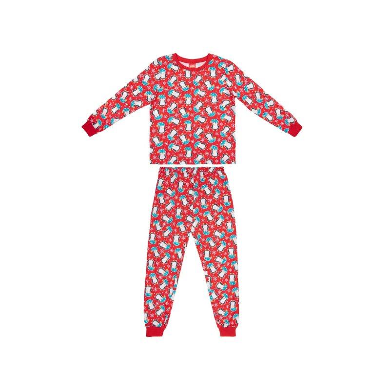 Young Kids Penguin Christmas Pyjamas Kids Xmas Pyjamas B Amp M