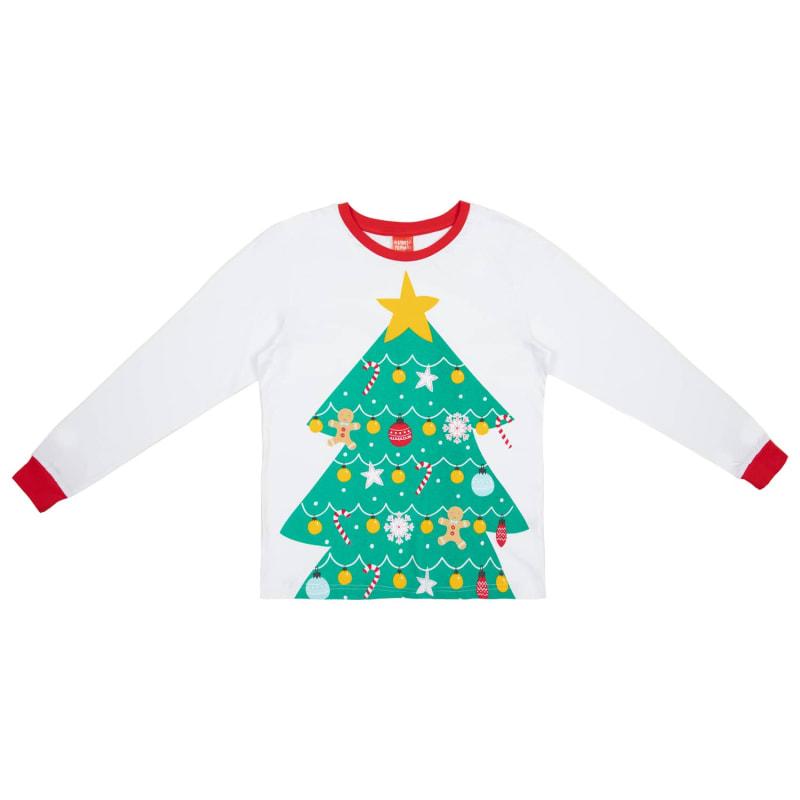 Christmas Tree Picture.Older Kids Christmas Tree Pyjamas