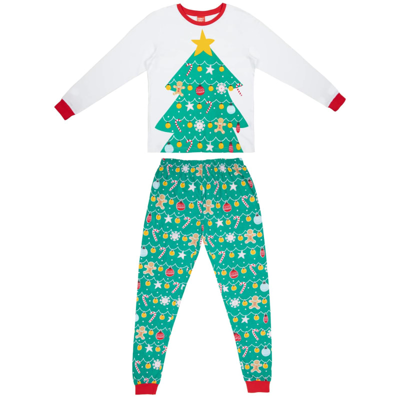 Mens Christmas Pajamas.Mens Christmas Tree Pyjamas