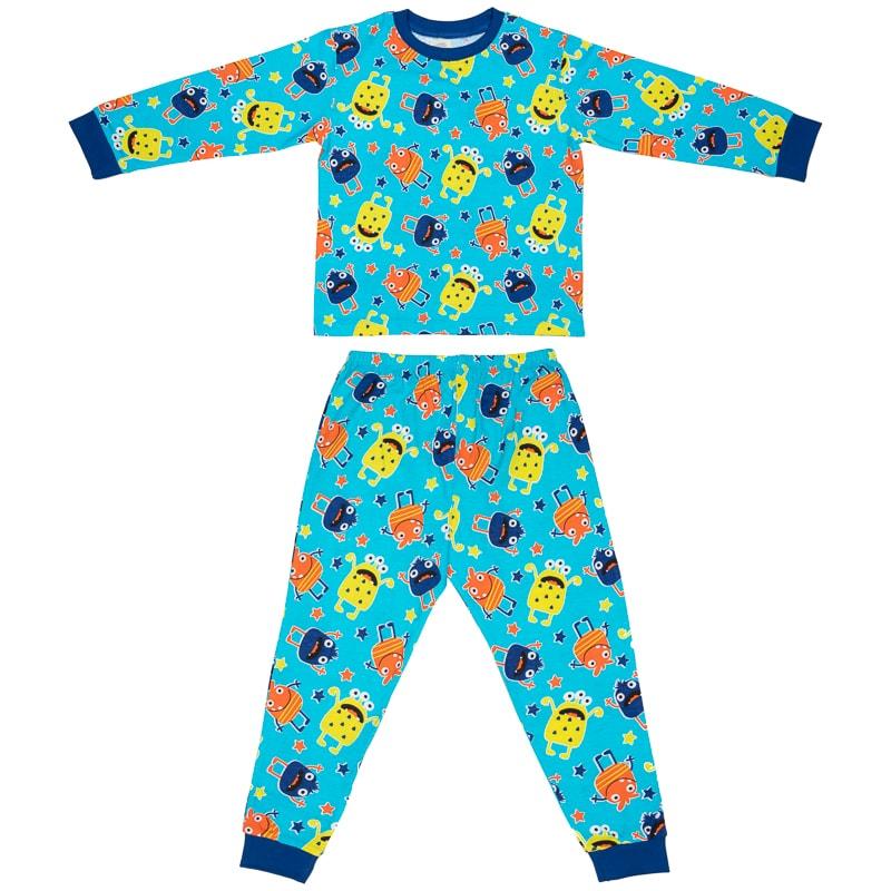 online store 1b81f 4cb2b Toddler Cotton Pyjamas - Monster