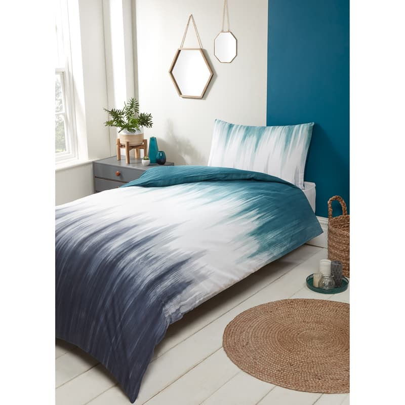 Teal Single Duvet Set