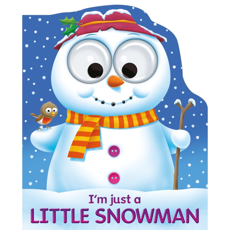 Googley Eyes Christmas Book - Little Snowman