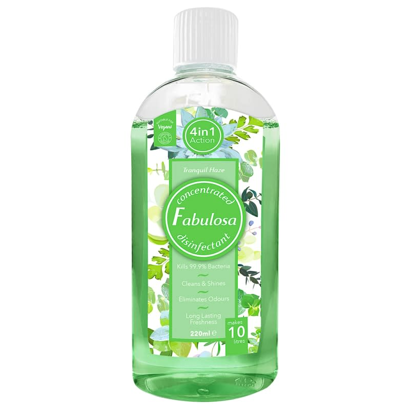 Fabulosa Concentrated Disinfectant 220ml - Tranquil Haze
