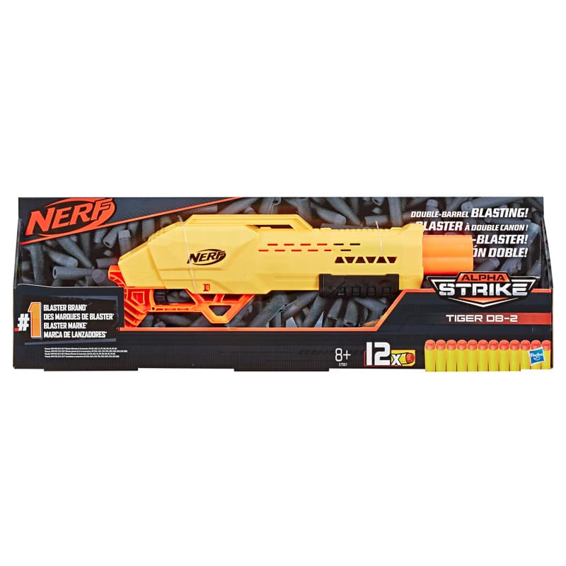Nerf Double Barrel Tiger