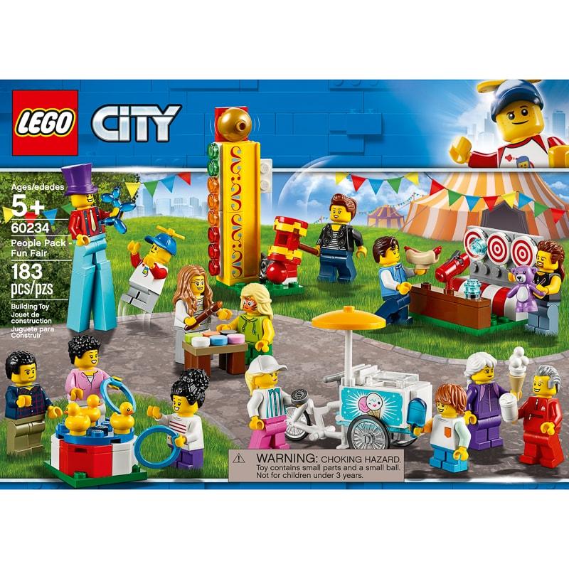 Lego City People Pack Fun Fair Construction Toys B Amp M