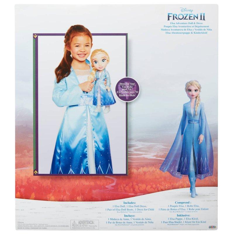 Disney Frozen 2 Elsa Adventure Doll Dress