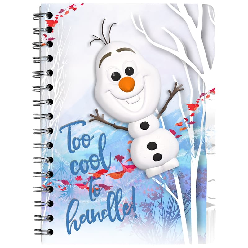 Frozen Olaf Squishee Notebook