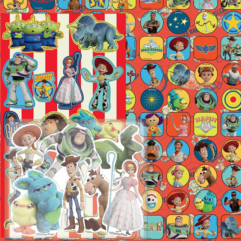 Toy Story 4 Mega Sticker Pack