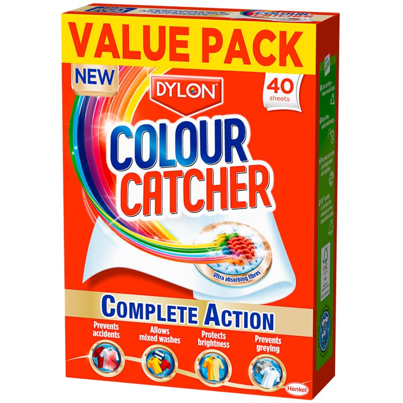 Dylon Colour Catcher Sheets 40pk