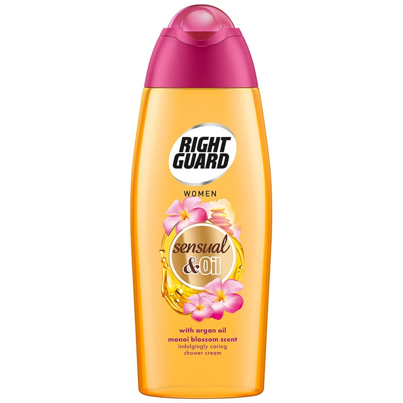 Right Guard Magic Oil Shower Gel 300ml - Monoi Blossom