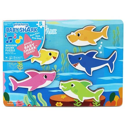 Baby Shark Wood Puzzle