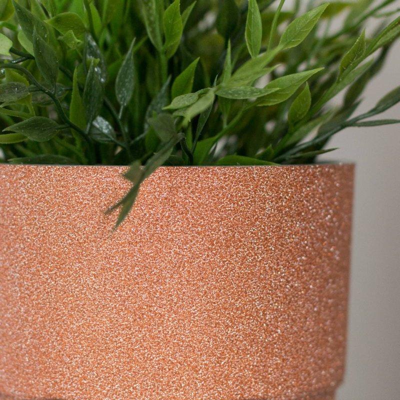 D C Fix Self Adhesive Film 67 5cm X 2 M Copper Glitter
