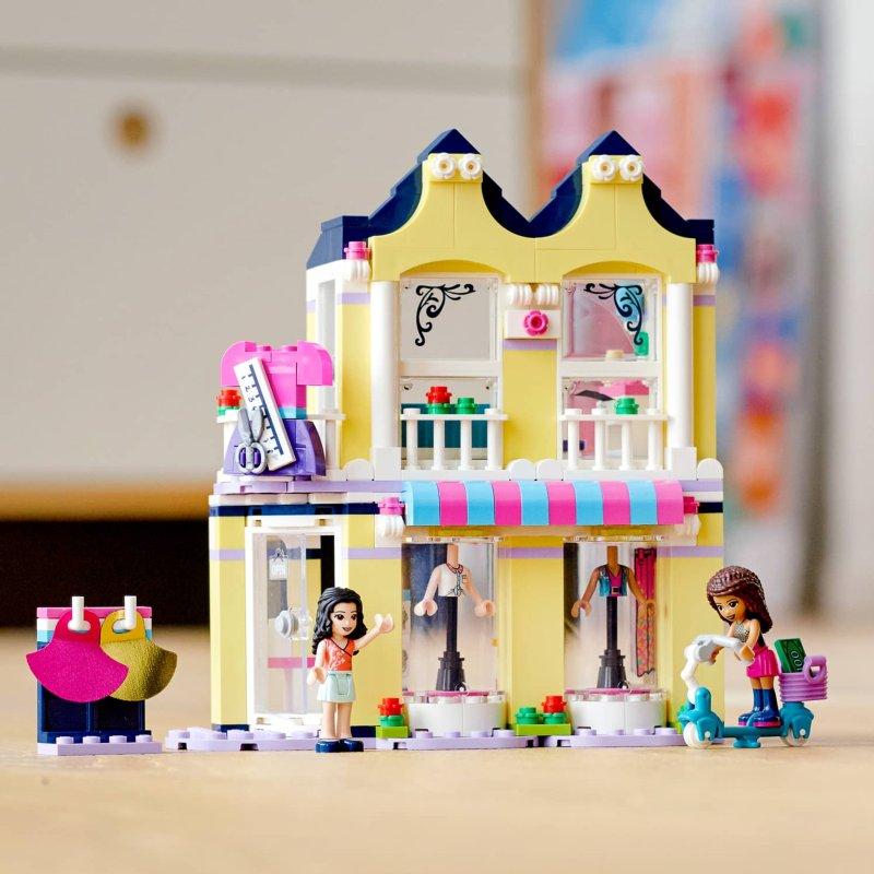 LEGO Friends Emma's Fashion Shop   Building Toys - B&M