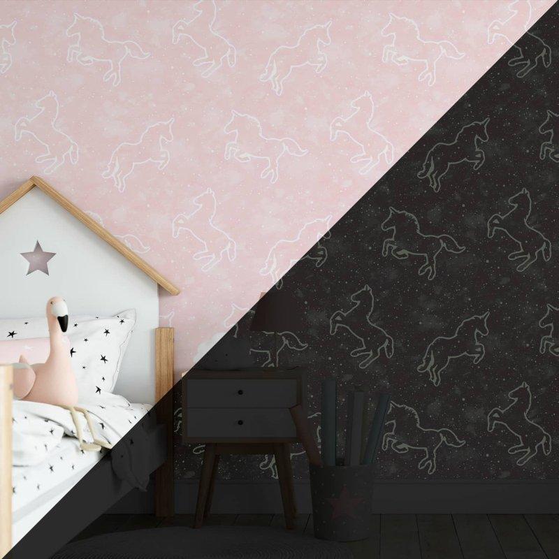 Glow In The Dark Illumicorn Wallpaper