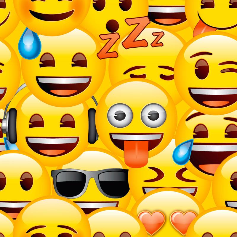 Emoji Bedroom Wallpaper
