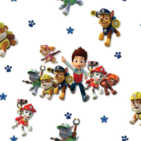 debona paw patrol wallpaper kids wallpaper decorating b m. Black Bedroom Furniture Sets. Home Design Ideas
