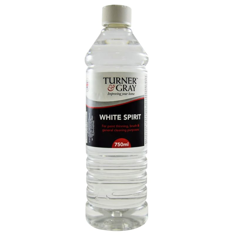 Cleaning Oil Paint White Spirit