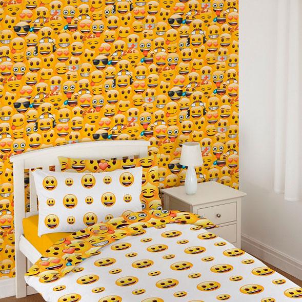 Debona Emoji Wallpaper Kids Wallpaper Decorating B Amp M