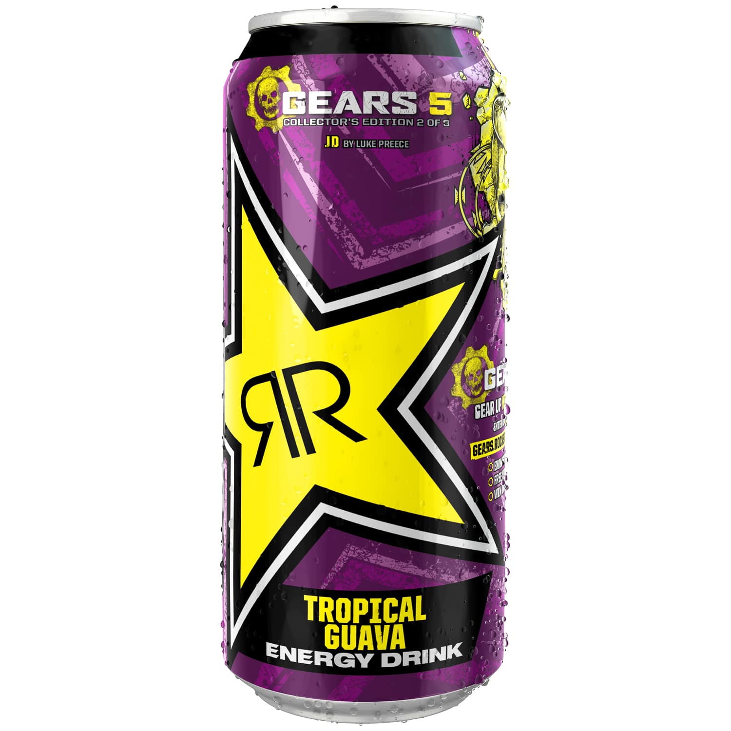 Rockstar Punched Tropical Guava Energy Drink 500ml