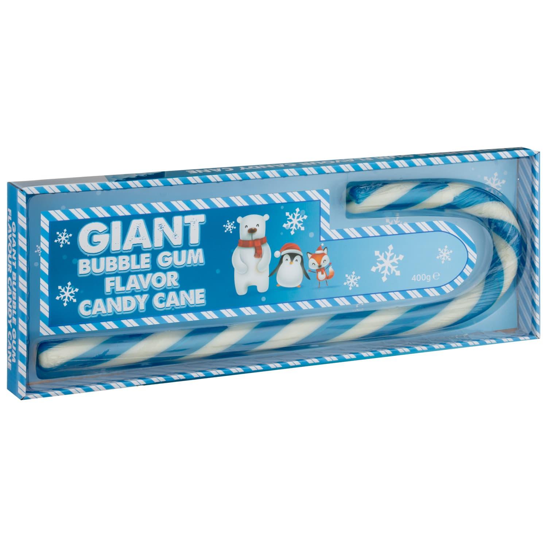 Giant Candy Cane 400g Bubblegum