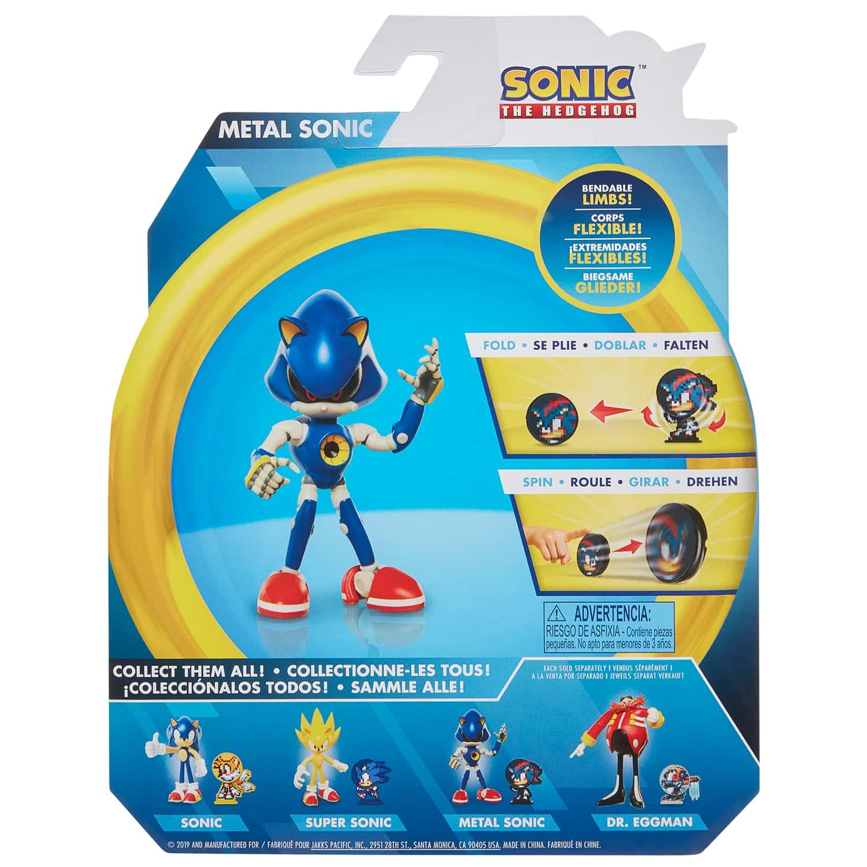 Metal Sonic 4 Bendable Action Figure Toys B M