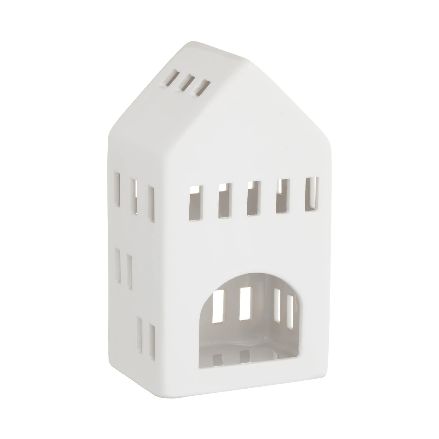 Ceramic House Tealight Holder Small Candle Holders B M