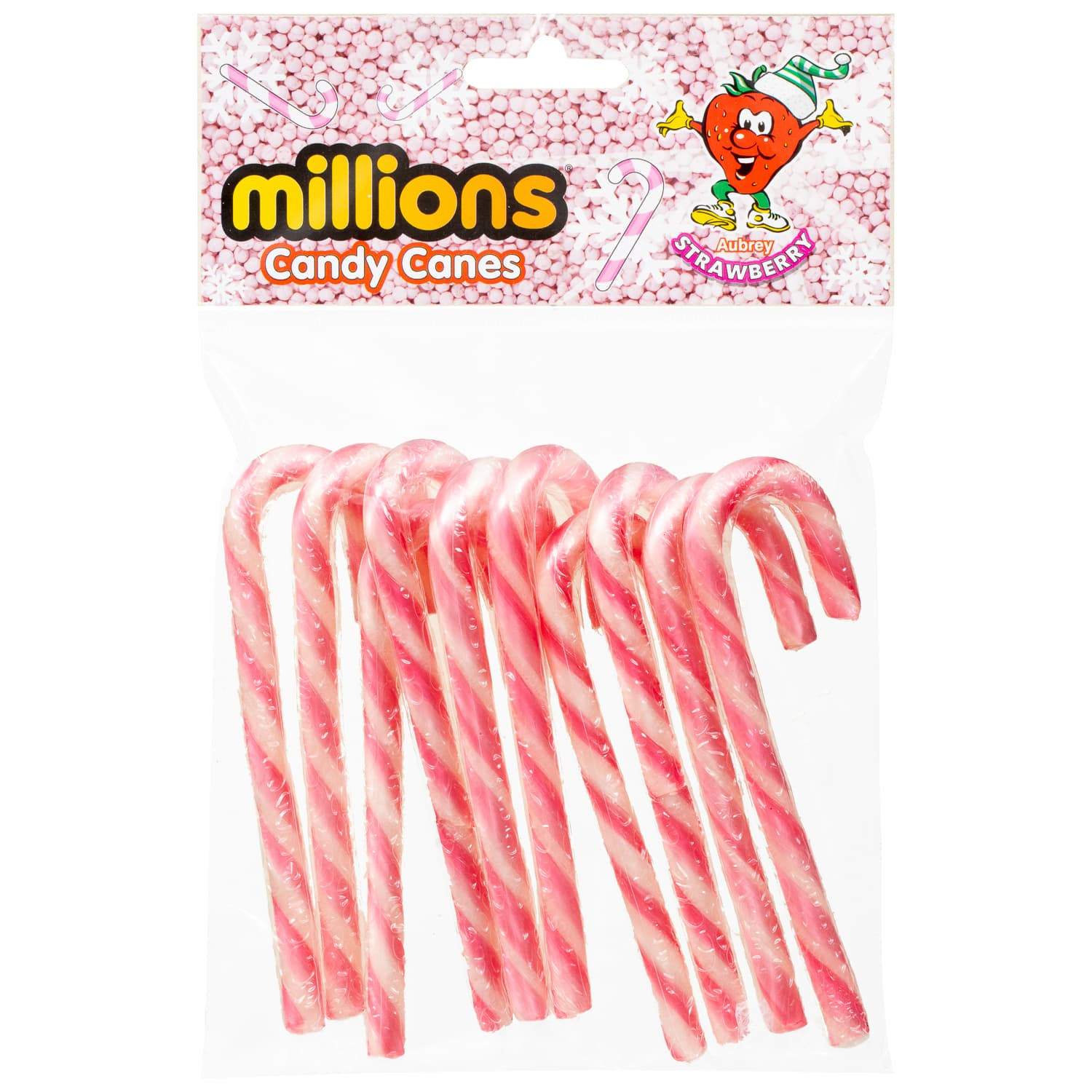 Millions Candy Canes Pink
