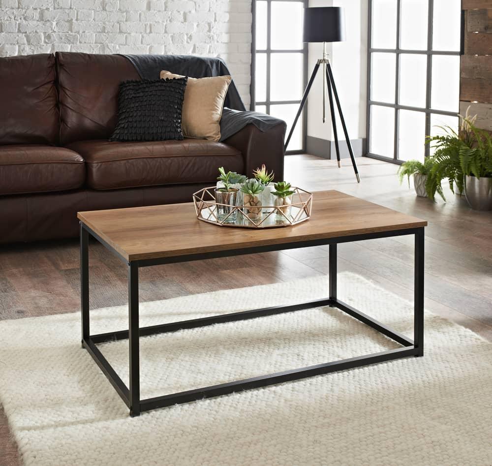 - Tromso Coffee Table Living Room Furniture - B&M
